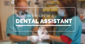 A day in the life of a dental assistant.